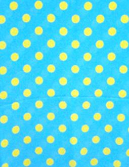 ♬水色×黄水玉(3cm 玉)